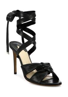 Altuzarra Zuni Leather Wraparound Sandals