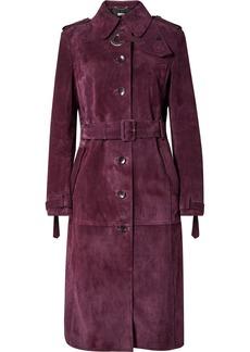 Altuzarra Belted Suede Coat