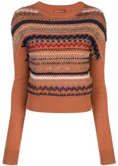 Altuzarra braided embroidery jumper