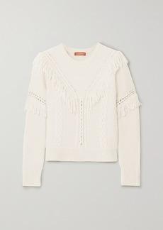 Altuzarra Buckeye Fringed Knitted Sweater