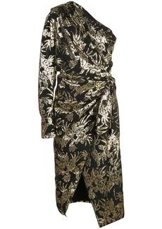 Altuzarra Chanda asymmetric one sleeve dress