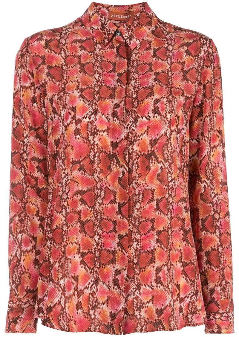 Altuzarra Chika silk-crepe blouse