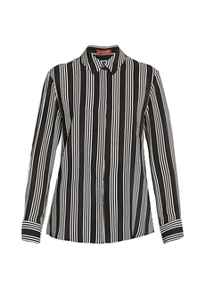 Altuzarra Chika Striped Silk Top