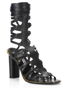 Altuzarra Classic Leather Gladiator Sandals