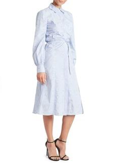 Altuzarra Cotton Hyacinth Shirt Dress