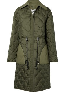 Altuzarra Creedence Reversible Cotton Twill-trimmed Quilted Shell Coat