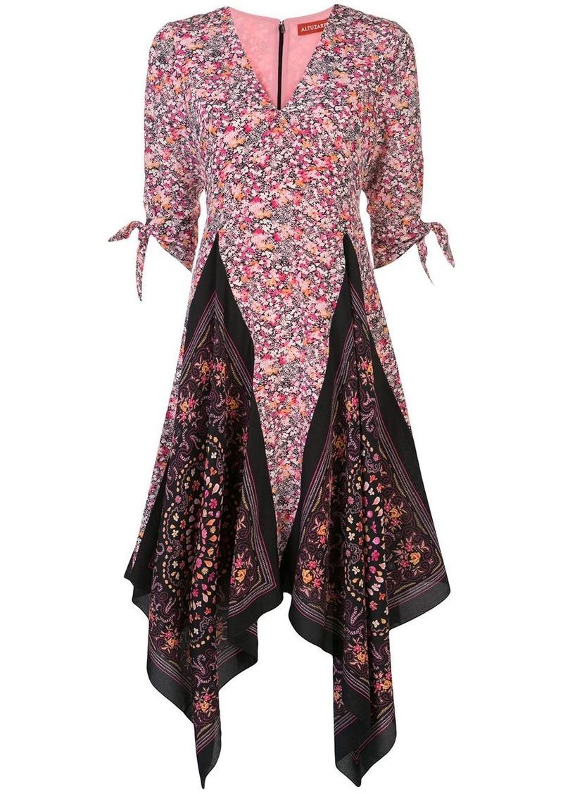 Altuzarra Elvira floral print silk dress