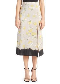 Altuzarra Felice Floral Silk Skirt