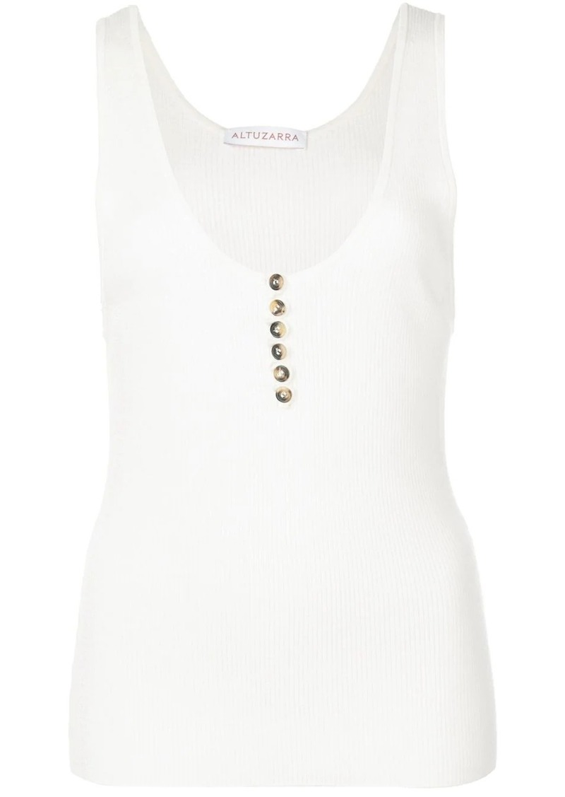 Altuzarra Flack ribbed tank top