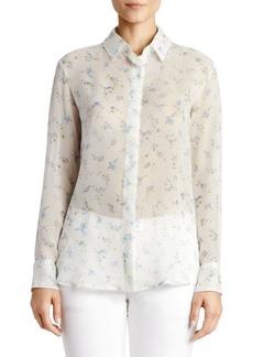 Altuzarra Floral Silk Blouse