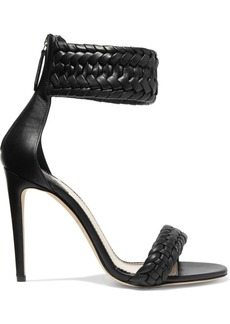 Altuzarra Ghianda Braided Leather Sandals