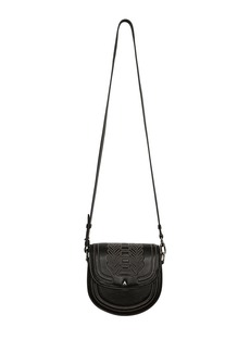 Altuzarra Ghianda Mini Leather Saddle Shoulder Bag