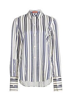 Altuzarra Giselda Striped Shirt