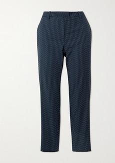 Altuzarra Henri Embroidered Woven Skinny Pants