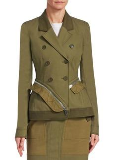 Altuzarra Holding Military Jacket