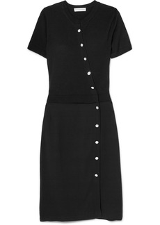Altuzarra Jefferson Merino Wool And Stretch-crepe Dress