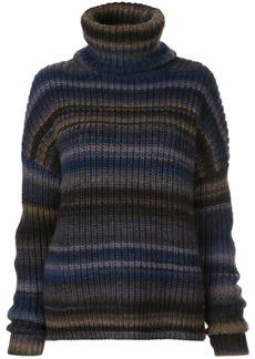 Altuzarra Kelley striped turtleneck jumper