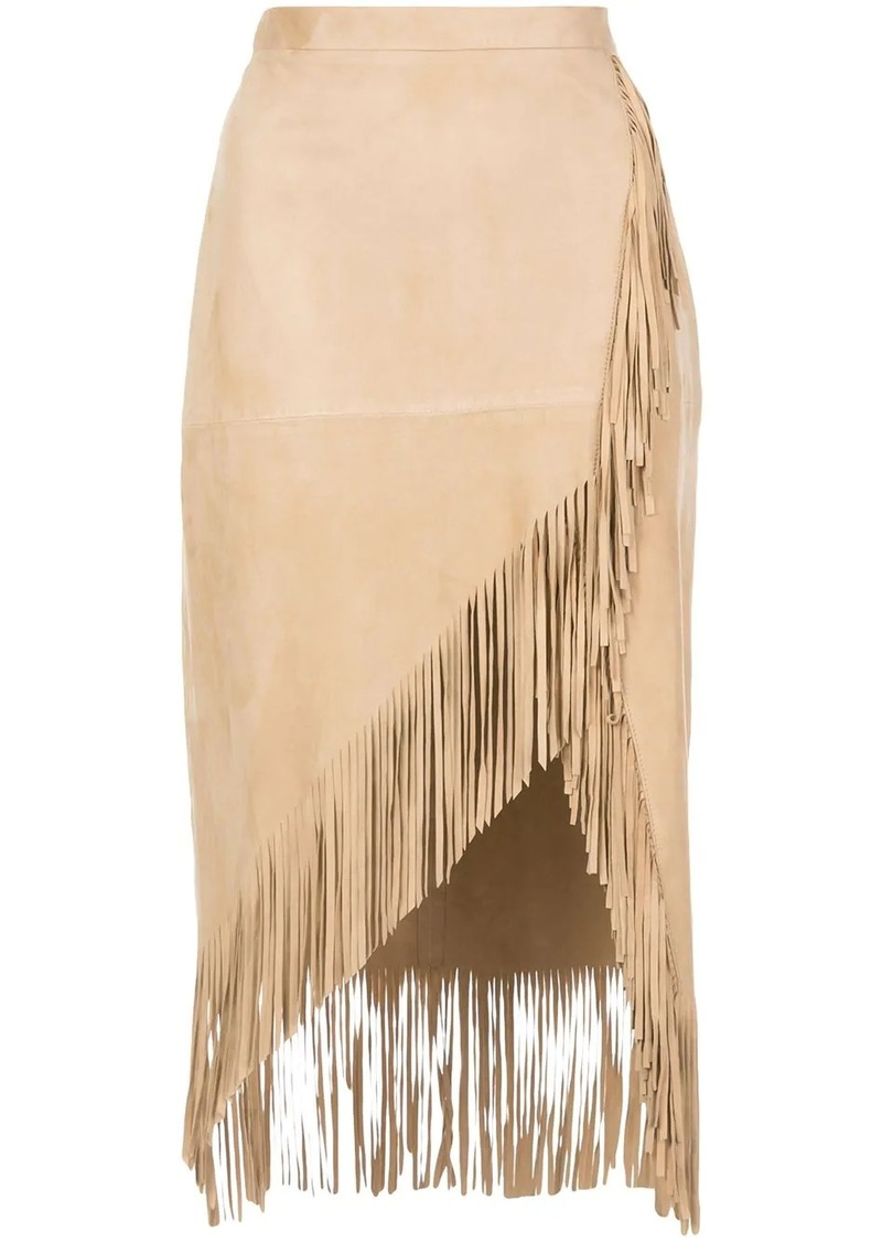 Altuzarra Kentucky fringed skirt