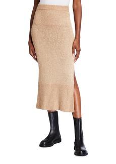 Altuzarra Kinsley Sequin Knit Midi Skirt