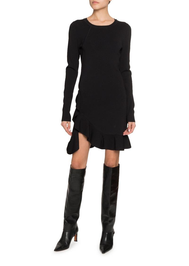 Altuzarra Long-Sleeve Ruffled Dress
