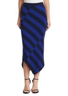 Altuzarra Mallory Asymmetrical Knit Skirt