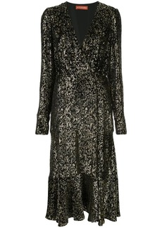 Altuzarra Martha sequinned midi dress