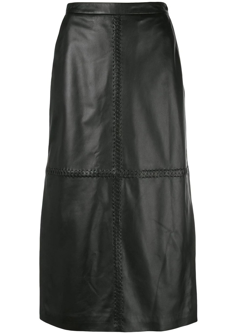 Altuzarra Mooney A-line skirt