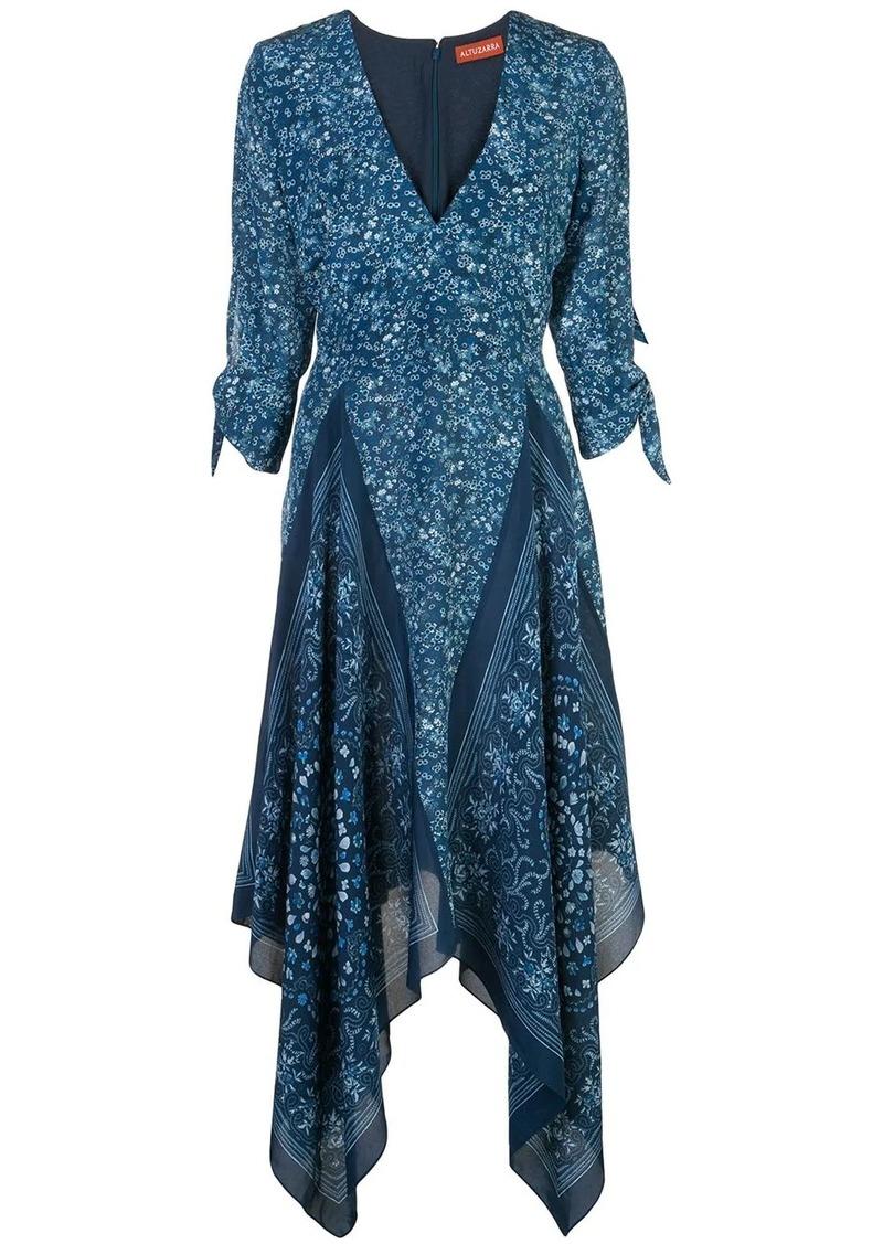 Altuzarra paisley print midi dress