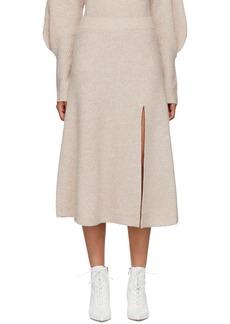Altuzarra Pink Cashmere Calvin Skirt