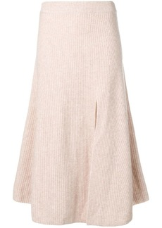 Altuzarra ribbed knit midi skirt
