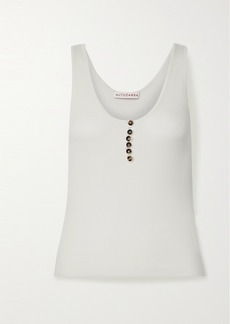 Altuzarra Ribbed Wool And Cashmere-blend Tank