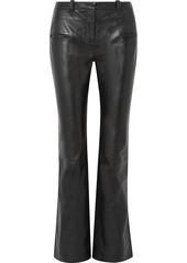 Altuzarra Serge Leather Bootcut Pants