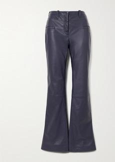 Altuzarra Serge Leather Flared Pants