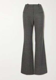 Altuzarra Serge Mélange Wool-blend Bootcut Pants