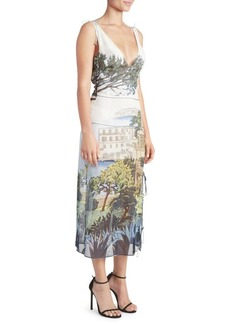 Altuzarra Silk Tuscany Print Dress