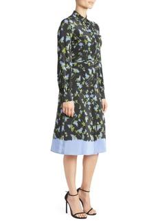 Altuzarra Strada Silk Belted Dress