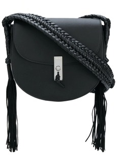 Altuzarra tassel detail flapped shoulder bag