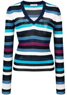 Altuzarra V neck knitted top