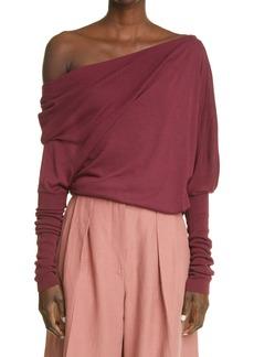 Women's Altuzarra Granger One-Shoulder Sweater