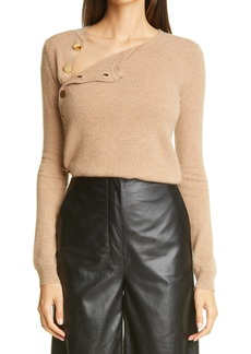 Women's Altuzarra Minamoto Side Button Cashmere Sweater