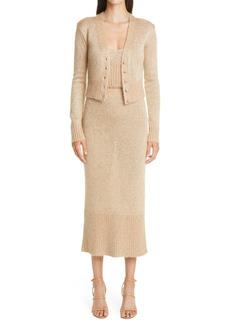 Women's Altuzarra Kinsley Sequin Metallic Knit Skirt