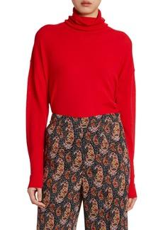 Altuzarra Wool Rhinestone-Seamed Sweater