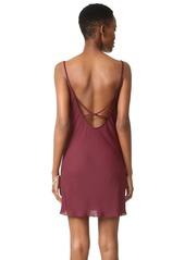 Amanda Uprichard Bowie Slip Dress