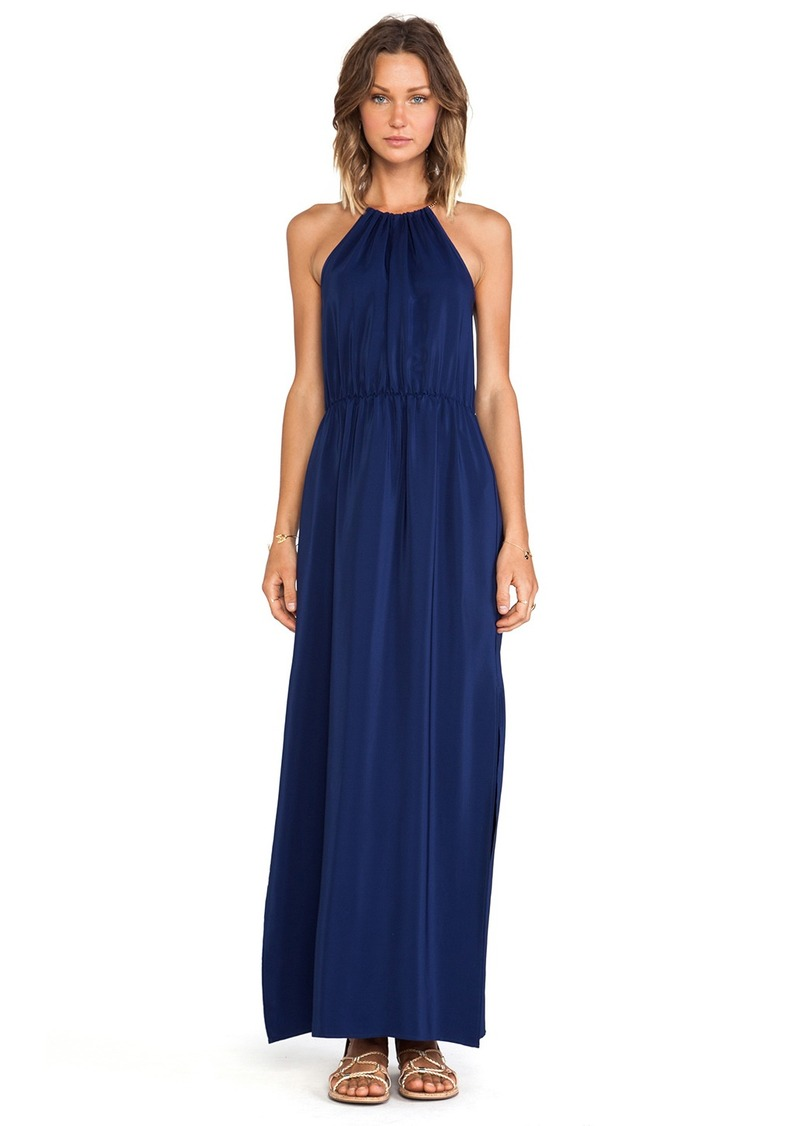 Amanda Uprichard Chain Neck Maxi Dress