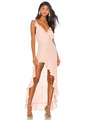 Amanda Uprichard Chandelier Maxi Dress