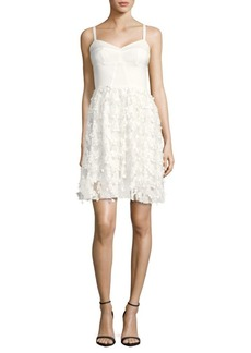 Amanda Uprichard Confetti Lace Dress