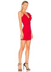 Amanda Uprichard Danica Ruffle Dress