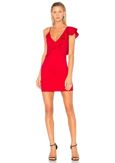 Amanda Uprichard Danica Ruffle Dress