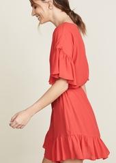 Amanda Uprichard Double Georgette Dress