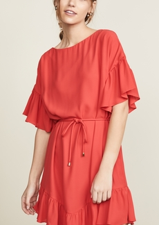 Amanda Uprichard Double Georgette Dress